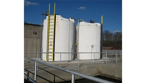 WYN manufactures a variety of products, including fiberglass and polyethylene tanks. (photo courtesy of WYN Industries)