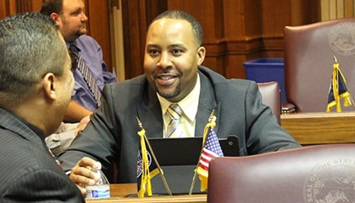 (photo courtesy of the Indiana House Democratic Caucus)