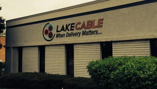 Lake Cable says construction is expected to be complete in 2020.