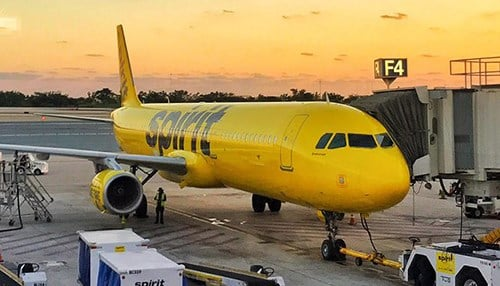(photo courtesy of Spirit Airlines)