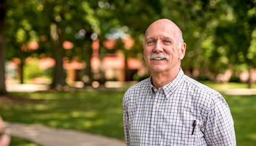 Moore has been a member of Rose-Hulman's faculty for 22 years.