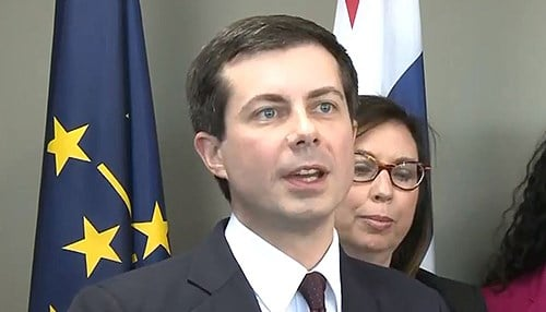 Buttigieg was elected mayor in 2011 and re-elected in 2015.