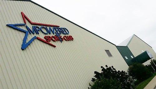 The performance center is located at Empowered Sports Club in Fort Wayne. (photo courtesy of Empowered Sports Club)