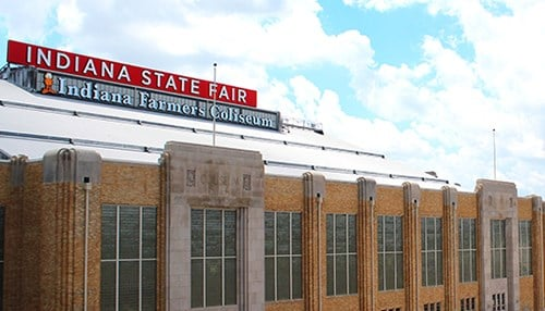 The study says the renovations to the Indiana Farmers Coliseum were a major contributor to the increase. (photo courtesy Indiana State Fairgrounds)