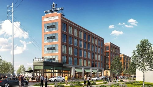 (rendering courtesy of Hendricks Commercial Properties)