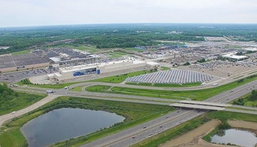 The plant in Lordstown, Ohio is one of five to close as part of GM's reorganization effort. (photo courtesy of GM)