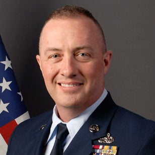 Chief Master Sgt. Michael May