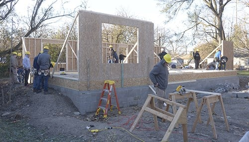 The announcement will involve the district's Area 31 construction vocational program.