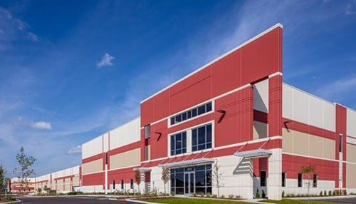 Photo of Greenpointe Logistics Center courtesy of the Opus Group