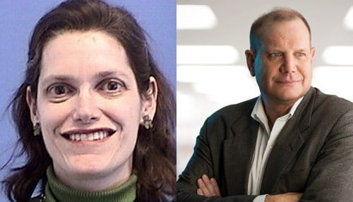 Amy Beth Kressel (left) and Alan Wright