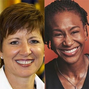 Allison Barber Tamika Catchings