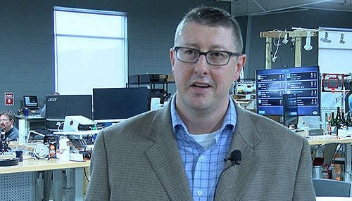 Jason Pennington is the executive director of the Indiana IoT Lab in Fishers.