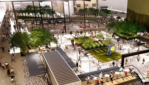 Rendering Courtesy: Pacers Sports & Entertainment