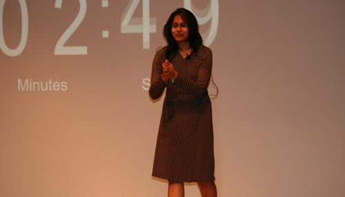 Radhika Ravindran (photo courtesy of IUPUI)