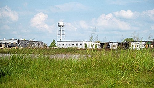 More than 1,000 structures at the former Indiana Army Ammunition Plant need to be demolished.