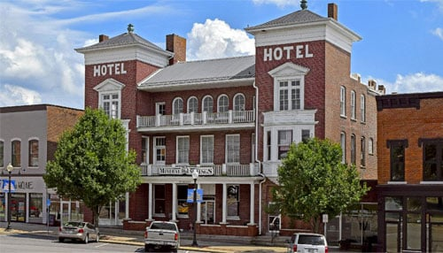 Mineral Springs Hotel is one of this year's featured locations.
