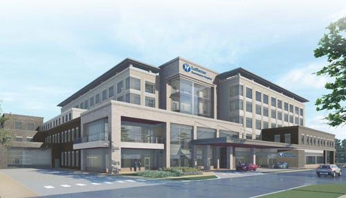 Updated Rendering courtesy of Lutheran Health Network