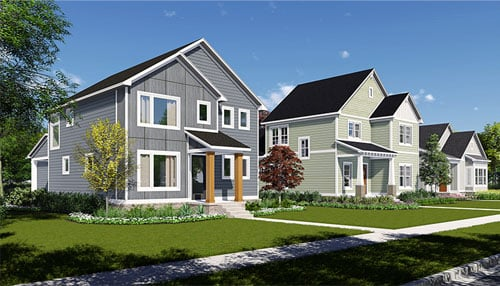 Rendering courtesy of Old Town Design Group