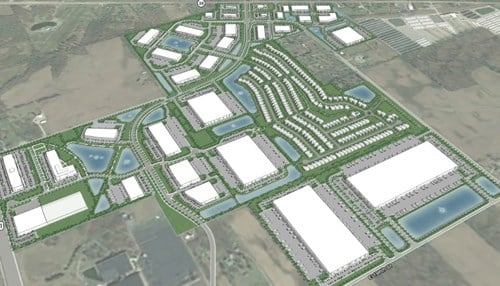 Northpoint Business Park in Westfield is one of 6 sites chosen for the program in Indiana. (photo courtesy of NPwestfield.com)