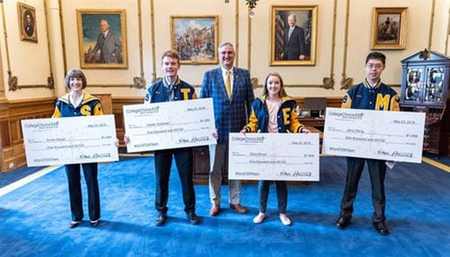 Photo courtesy of the Office of Governor Eric J. Holcomb