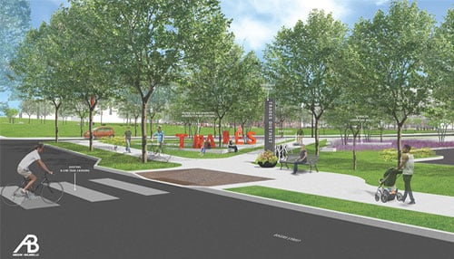 Rendering courtesy of the city of Bloomington