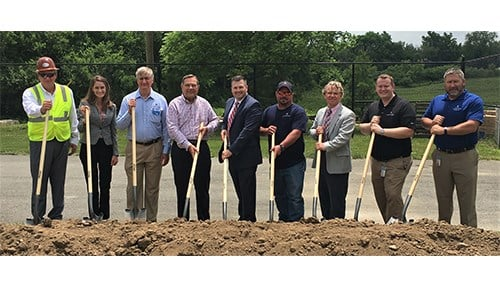 Indiana American Water broke ground in June for a new treatment plant in Noblesville