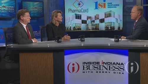 1SI executives Matt Hall and Wendy Dant Chesser talked about the project on Inside INdiana Business.