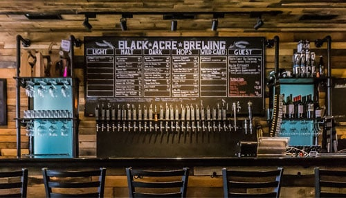 Photo courtesy of Black Acre Brewing