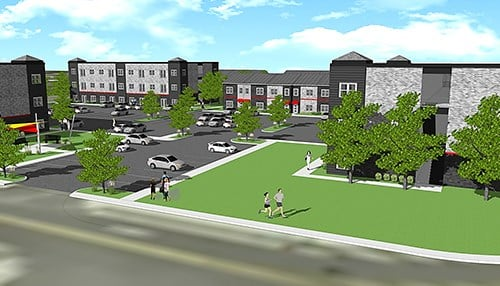 Clarksville leaders are focused on redevelopment including this mixed-use project