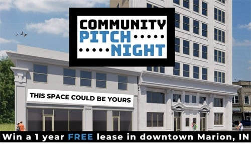 """The city of Marion will host a """"shark tank"""" like event called Community PItch Night"""