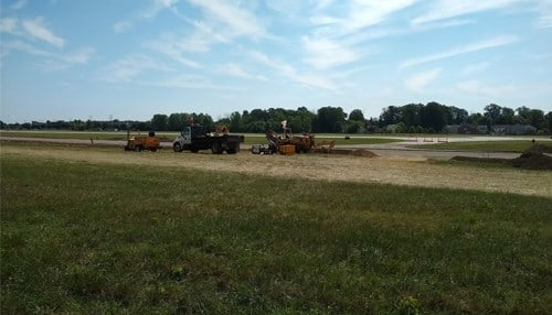 Eagle Creek Airpark is undergoing $4.5M construction work to its taxiway