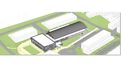 (rendering courtesy city of Greenwood)