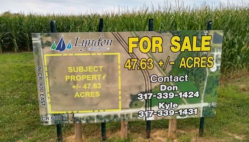 Purdue says 2019 farmland values have dropped for the 5th straight year