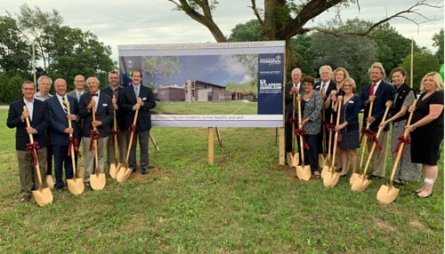 (The Healthcare Foundation of La Porte broke ground on its new HQ in Aug 2019)