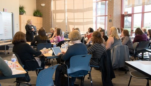 The Northeast Indiana Innovation Center conducts regular workshops to help entrepreneurs