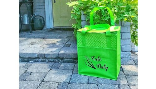 Cafe Baby will start statewide deliveries of its baby food products