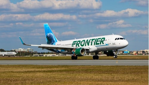 Frontier announces a new, nonstop, flight from Indy to Cancun. (image courtesy of Frontier Airlines)