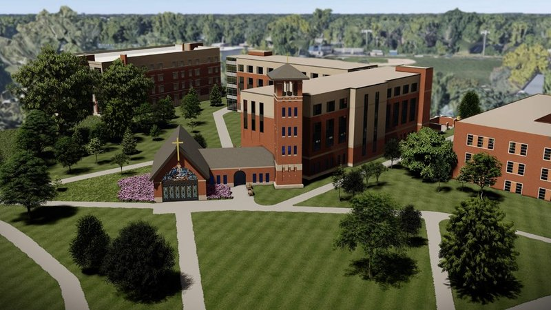 Caito-Wagner Hal rendering (courtesy Marian University)