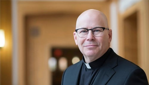 Rev. Eric Zimmer will become the next president of the University of Saint Francis in Fort Wayne