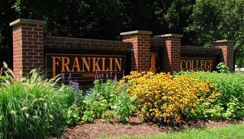 Franklin College is a liberal arts school with an enrollment of about 1,000 students. (photo courtesy: Franklin College)