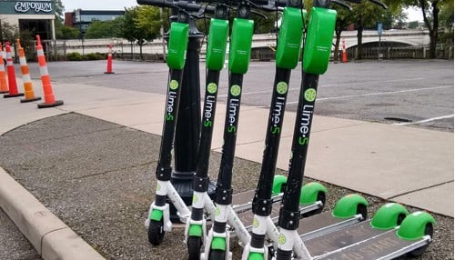 Lime is pulling its scooters and bikes from South Bend.