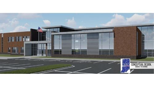 (conceptual drawing of proposed MADE @ Plainfield facility