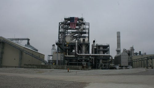 POET ethanol co. announced in Aug 2019 it was closing the plant in Cloverdale. (photo courtesy: POET)