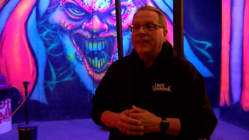 Todd Harmeson is the general manager of Indy Scream Park. (IIB Photo/Mary-Rachel Redman)