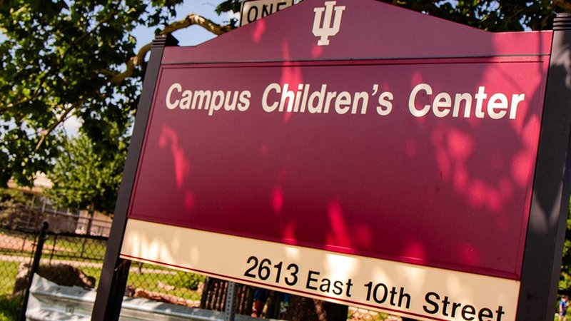 Indiana University Campus Children's Center is one of nine recipients (photo courtesy of IU)