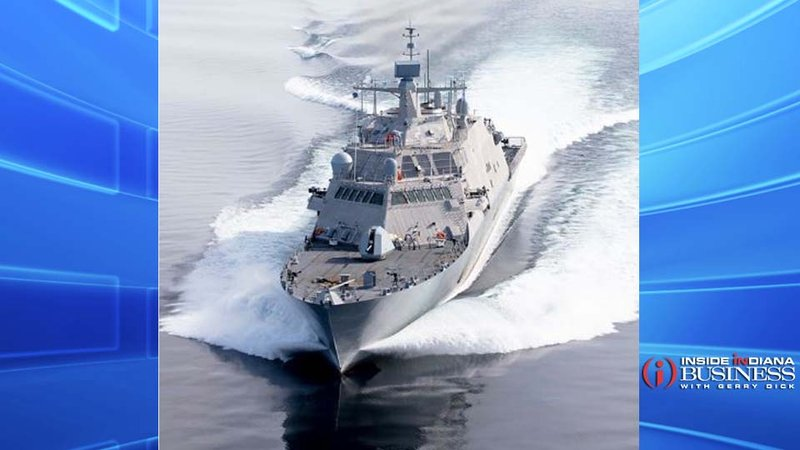 USS Indianapolis (LCS 17) Photo courtesy Lockheed Martin