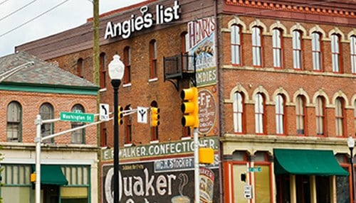Angie's List in Indianapolis received a Bronze recognition this year.