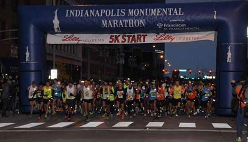 The Monumental Marathon consists of four events: a traditional 26.2 mile marathon, a 13.1 mile half marathon, a 5K run and a Kids Fun Run.