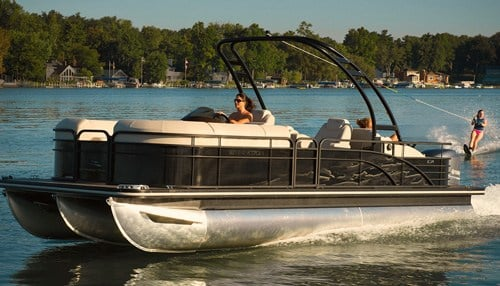 The boat brands made by Highwater Marine were recently acquired by Bennington Marine.