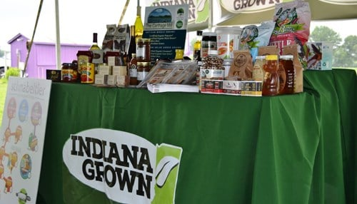 The Indiana Grown initiative is one of the recipients.